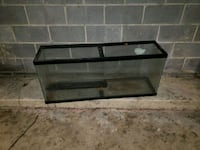 black framed clear glass fish tank Alexandria, 22304