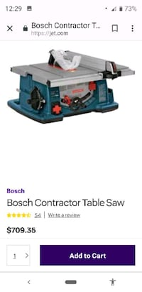 Bosch 4100 table saw Cloverdale, 95425