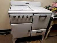 Gas stove 1950s