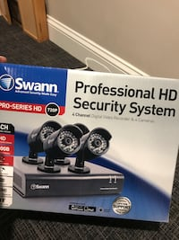 NIB! SWANN 4 Channel 4 Camera Professional Security System Marriottsville, 21104