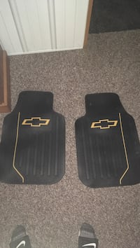 two black car floor mats South Bend, 46619
