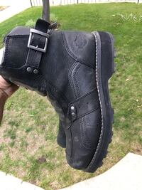 Pair of black Harley motorcycle boots! Size 12 Calgary, T2C 0M8