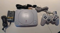 PSOne with controller and hookups