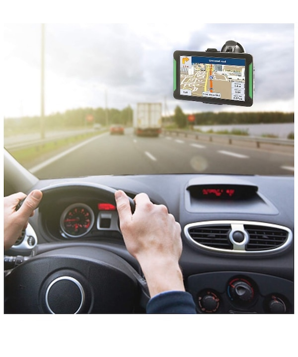 GPS Navigation for Car, 7 Inch 8GB HD Touch Screen Car GPS Navigation 6