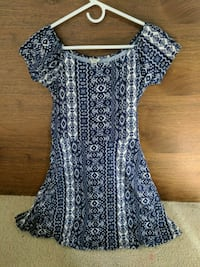 Blue Aztec dress Fairfax, 22032