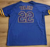 Brewers #22 Yelich mens med jersey