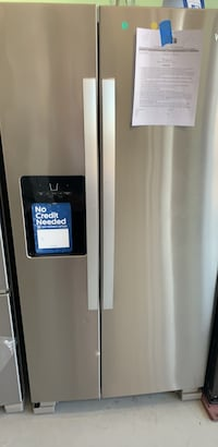33 inch new whirlpool stainless steel two door with ice maker on sale no credit needed Essex, 21221