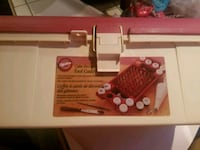 Cake decorating caddy. Used once.  Vallejo