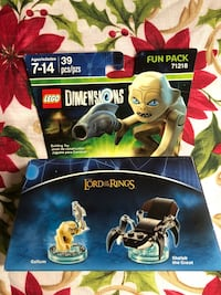 LEGO Dimensions Fun Pack 71218 (New) Moreno Valley, 92551