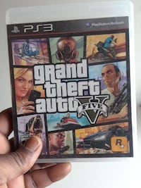 Grand Theft Auto Five PS3 game case