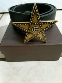 "Gucci Belt New with box.Size 28-36"" Chicago"