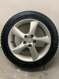 215 55 17 Winter tire with rims