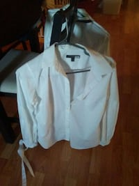 white button-up long-sleeved shirt Winnipeg, R2W 0Y1