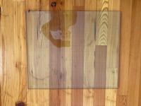 "1/4"" Beveled Glass off Old Table. Dimensions are 20"" x 23 3/4 "". Purcellville, 20132"