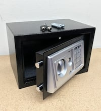 "New $35 Digital 12""x8""x8"" Security Safe Box Electric Keypad Lock Money Jewelry w/ Master Key 2259 mi"