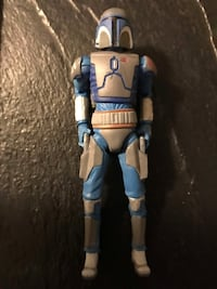 Mandalorian warrior Star Wars action figure 31 km