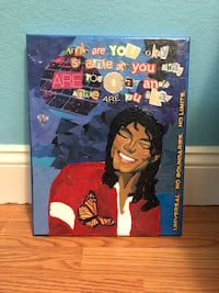 Homemade Michael Jackson Wall Decor  Santa Barbara, 93101