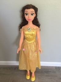"38"" MY SIZE DOLL-DISNEY PRINCESS BELLE Imperial, 92251"