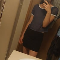 Set: Aeropostale Tee + Forever 21 Skirt ($5 each)