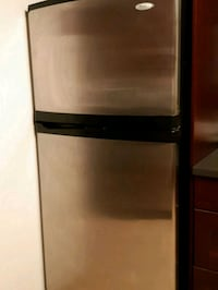 black and gray top-mount refrigerator Toronto, M1R 1C9