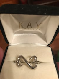 silver-colored Kay Jewelers infinity ring Medford, 02155