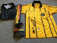 Yellow and black soccer referee  jerseys and all referee stuff Rialto, 92376