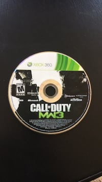 Call of Duty MW3 Xbox 360 game disc Laurel, 20723
