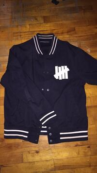 Vintage Undefeated Zip Up Jacket 787 km