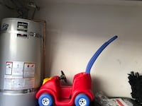 red and blue Little Tikes cozy coupe Burbank, 91504