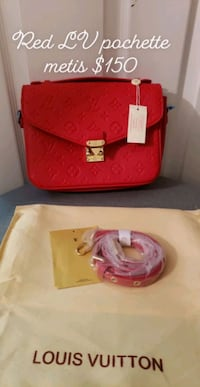 Pochette metis red new Toronto