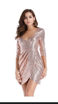 Gold dress size 38