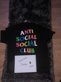Anti social social club ss19 rainbow shirt  Chantilly, 20151