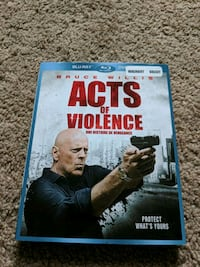 Acts of Violence Bluray Edmonton, T6E 0L9