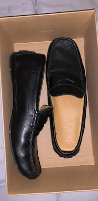 Cole Haan black leather loafers size 7