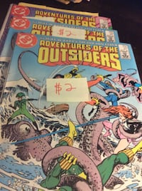 JUST REDUCED Comics Adventures of the Outsiders   Rockville