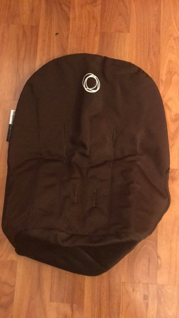 bugaboo comeleon stroler seat liner brown cover