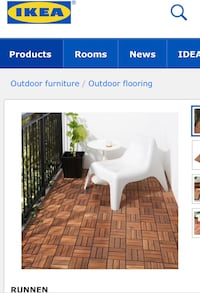 Ikea Runnen Outdoor Flooring Saanich, V8Y