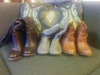 SIZE 5 BOOT LOT