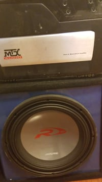 Amp/ 12 inch subwoofer combo