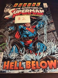 comic Annual The Adventures of Superman  Rockville
