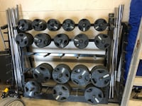 Standard Rubber Coated Weight Plates and Barbells Louisville, 40212