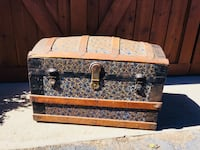 Beautiful Old Trunk
