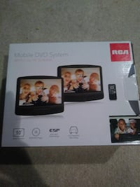 Mobile DVD system 10 inch screens