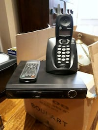 DVD player and cordless phone  Bowmanville, L1C 1G5