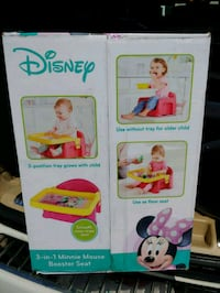 Minnie mouse 3 in 1 booster seat Virginia Beach, 23456