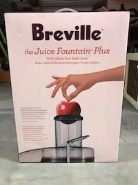 BREVILLE Juice Fountain Plus Juicer GET HEALTHY! Royal Oak, 48073