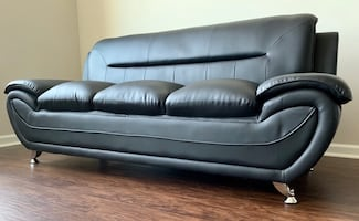 New Black Sofa Sectional