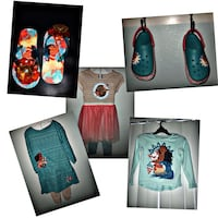 Size 4 to 5 Moana Lot if girls clothes and shoes Carrollton, 75006