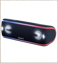 New Other Sony Portable Wireless Bluetooth Speaker, Black SRS-XB41 Dallas, 75220