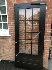 Vintage wood frame patio door Reading, 19604